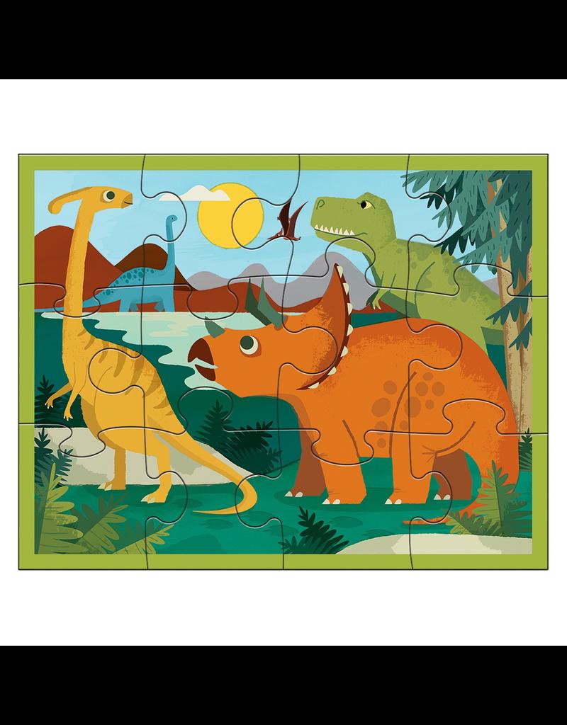 Mudpuppy 12 Piece Puzzle - Dinosaur Park