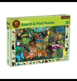 Mudpuppy Rainforest Search & Find Puzzle