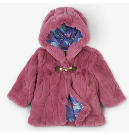Hatley Faux Fur Baby Hoodie 9-12m