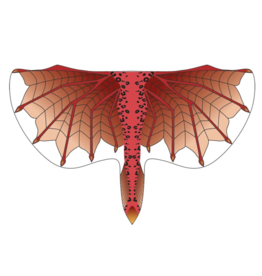 Red Dragon Wings, One Size