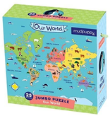 Mudpuppy Jumbo Puzzle Our World 2y+