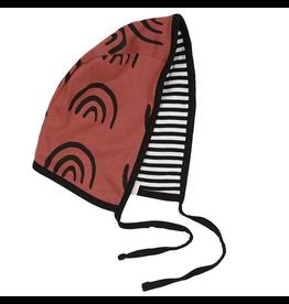 Turtledove London Organic Reversible Baby Bonnet, One Size