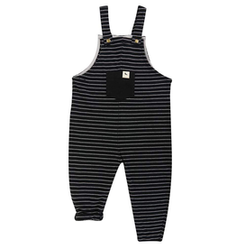 Turtledove London Striped Easy Fit Dungarees