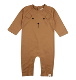 Turtledove London Honey Bear Organic Playsuit