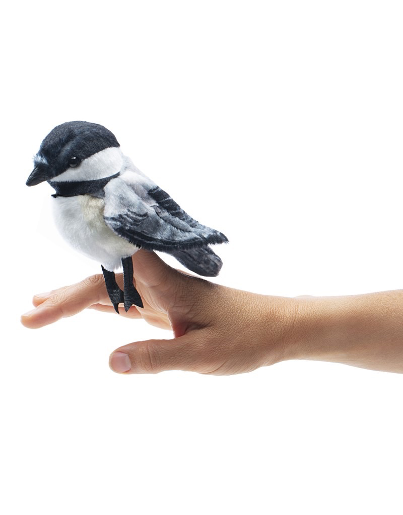 Folkmanis Finger Puppet - Chickadee