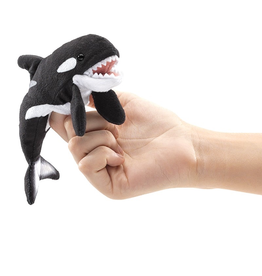Folkmanis Finger Puppet - Orca