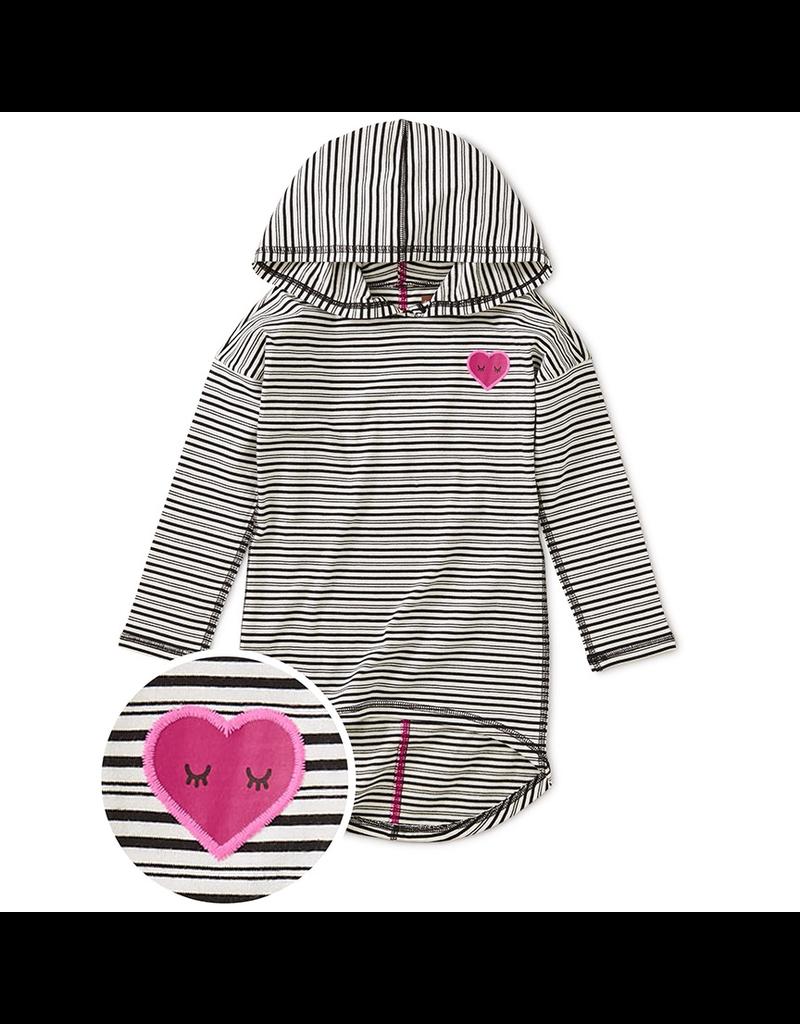 Tea Collection Heart Hi-Lo Pullover Hoodie