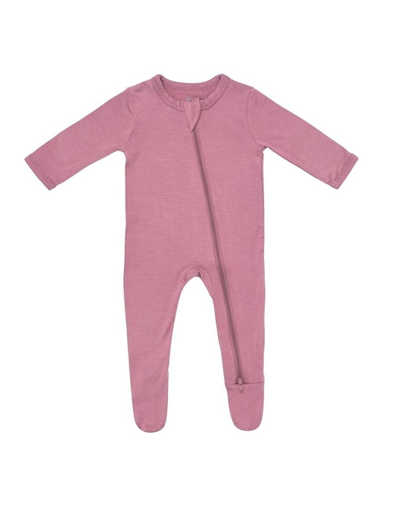 Kyte Baby Mulberry Zip Footie