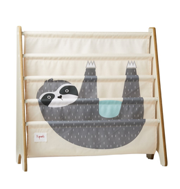 3 Sprouts Sloth Book Rack