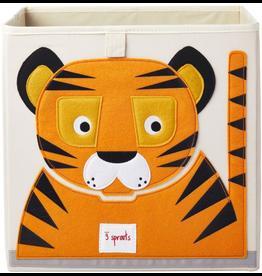 3 Sprouts Storage Box Tiger