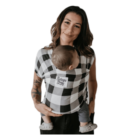 Beluga Baby Beluga Baby Bamboo Wrap - The Justine (Buffalo Plaid)