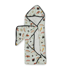Loulou Lollipop Sushi Hooded Towel & Cloth