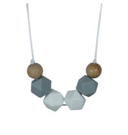 Celest Geometric Teething Necklace