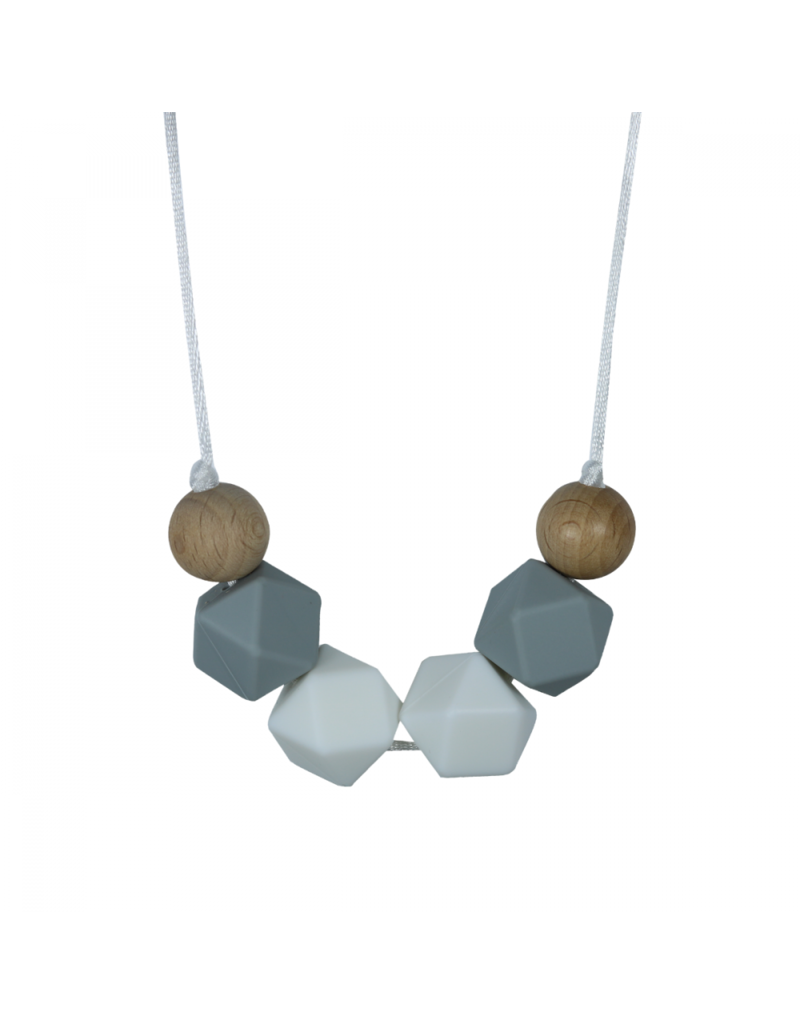 Celest Geometric Teething Necklace