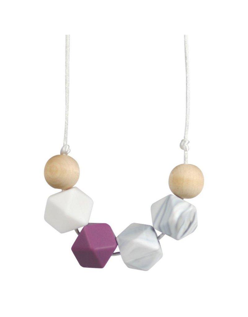 Gaia Geometric Teething Necklace