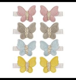 Mimi & Lula Velvet Butterfly Clip 6pk