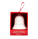 First Christmas Bell Ornament