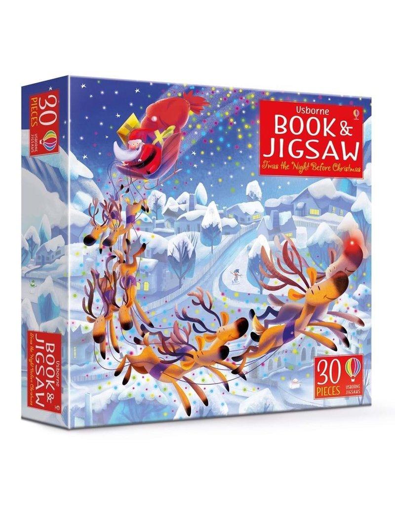 Usborne Book & Jigsaw 'Twas The Night Before Christmas