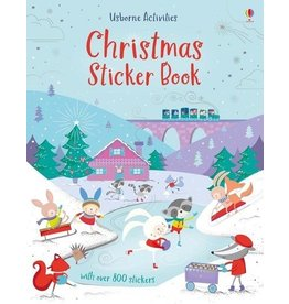 Usborne Christmas Sticker Book