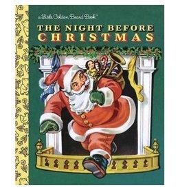 Random House Golden Books: The Night Before Christmas Board Book