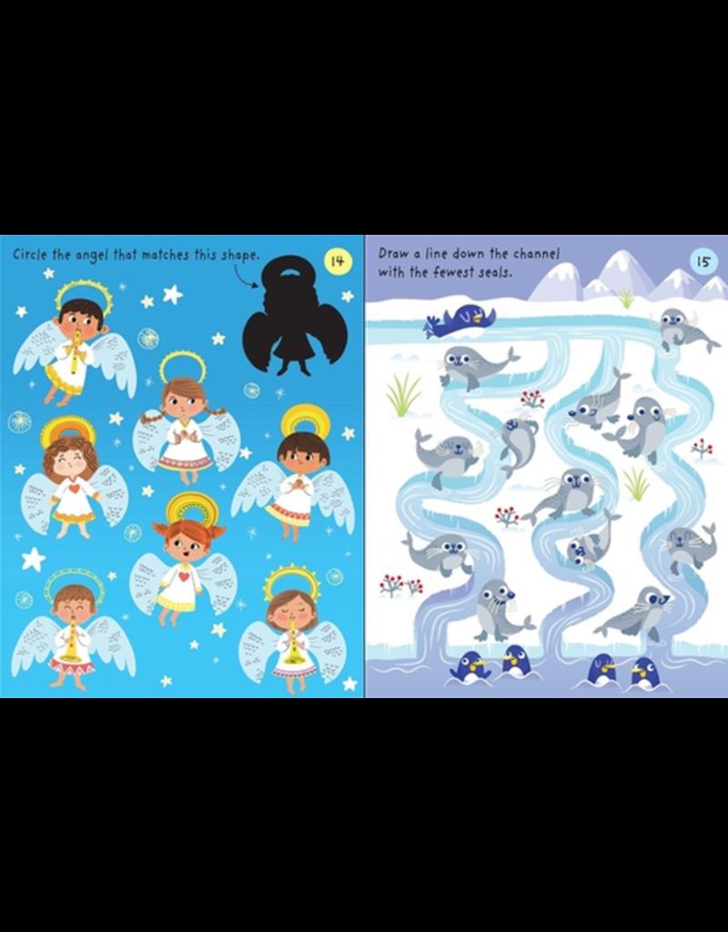 Usborne Little Children's Christmas Activity Pad