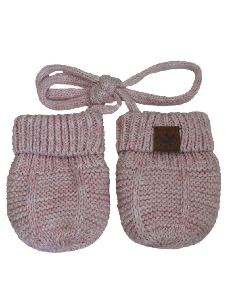 Cotton Knit Mittens