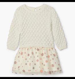 Hatley Metallic Snowflakes Baby Tulle Dress