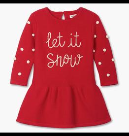 Hatley Let It Snow Baby Sweater Dress