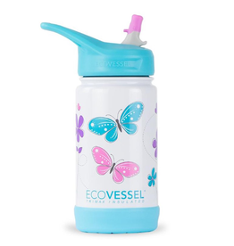 Butterflies Insulated Frost Bottle 12oz