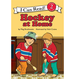 Harper Collins Hockey at Home: I Can Read 1