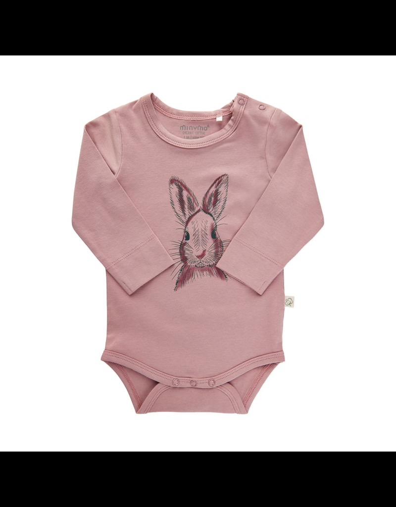Minymo Bunny LS Bodysuit