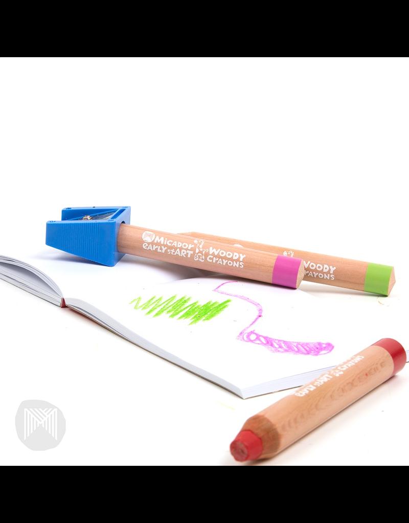 Early Start - Woody Crayons - FSC 100% 6pk