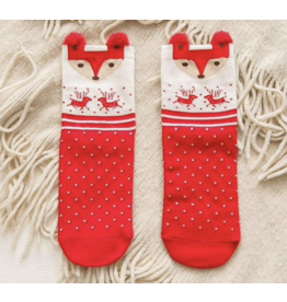 Dot Deer Socks