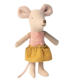 Maileg Mouse in Box - Little Sister (Camping Blanket)