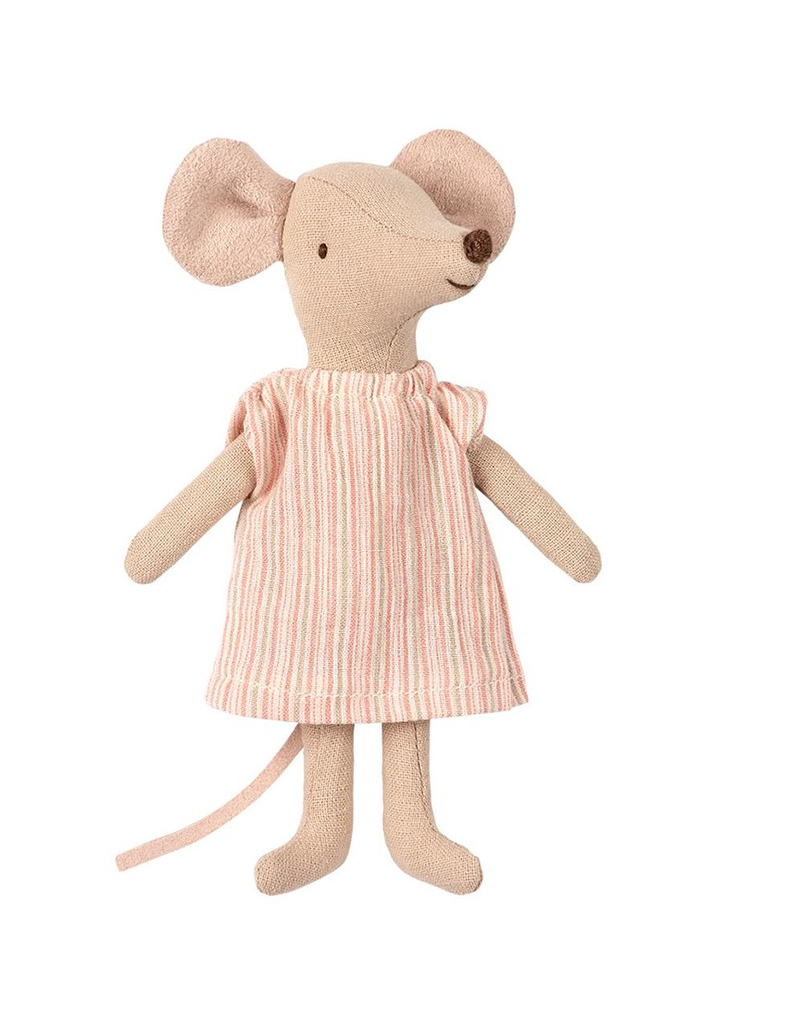 Maileg Mouse in Box - Big Sister (Nightgown)
