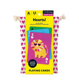 Mudpuppy Hearts! Playing Cards To-Go