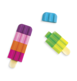 Icy Pops Scented Puzzle Erasers - Set of 4