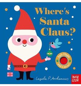 Random House Where's Santa Claus? Board Book