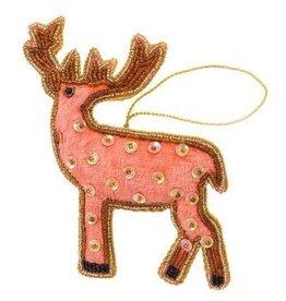Reindeer Plush Ornament