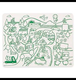 Silicone Doodle Mat: Transportation