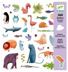 Djeco Stickers Wild & Cuddly
