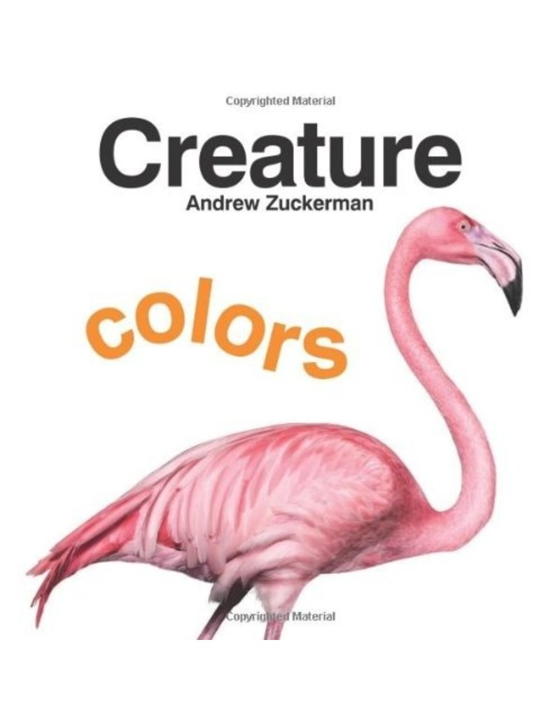 Chronicle Books Creature Colours