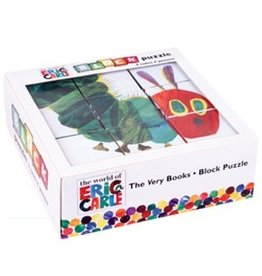 Mudpuppy Block Puzzle - Eric Carle