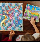 Eeboo Dragons Slips and Ladders Board Game
