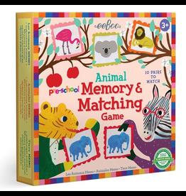Eeboo Pre-school Animal Memory Matching Game