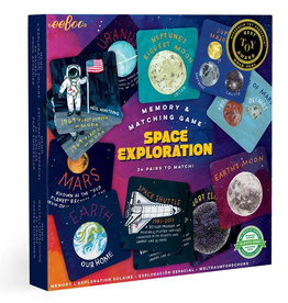Eeboo Space Exploration Memory Matching Game