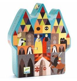Djeco Silhouette Puzzle - Fantastic Castle 54pc
