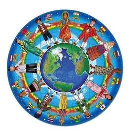 Melissa & Doug 48pc Floor Puzzle Children Around the World