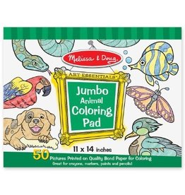 Melissa & Doug Jumbo Colouring Pad Animals