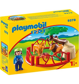 Playmobil 1.2.3. Lion Enclosure